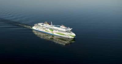 Tallink Grupp shuttle vessel Megastar (Photo: Tallink Grupp)