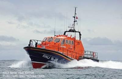 Tamar-class Lifeboat: Photo credit RNLI