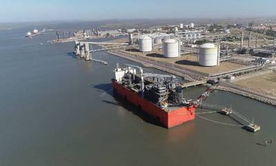 Tango FLNG - File Photo: Exmar
