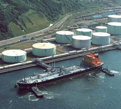 Tanker berth: Image courtesy of Torm