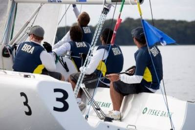 Team Brazil winners: Photo credit ISAF