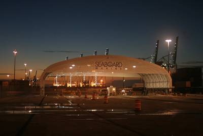 Terminal Entrance: Photo credit Seaboard