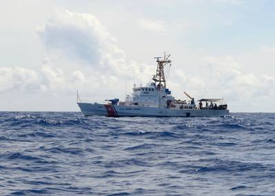 The 110-foot Island Class Cutter Washington Island (WPB 1331) has been decommissioned after 30 years of service.(U.S. Coast Guard photo by Matthew West)
