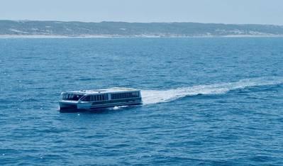The 24 X 5.5-meter MV Tricia on sea trials (Photo: Cummins)