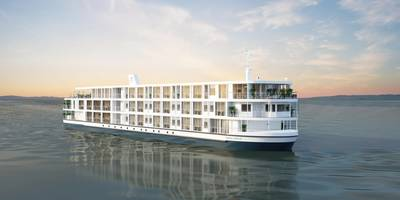 The 80-guest Viking Saigon is scheduled to debut for the August 30, 2021. (Image: Viking)