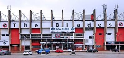 'The Blades' Football Ground: Photo credit GAC