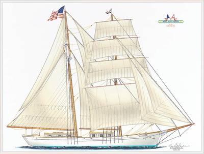 The Brigantine: Image courtesy of Educational Tall Ship Organization