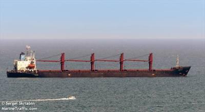The bulk carrier WISE HONEST (CREDIT: MarineTraffic.com / © Sergei Skriabin