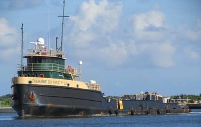 The Cheramie Bo Truc No 22 before the Nov. 14, 2019, collision with the Mariya Moran/Texas. Source: shipspotting.com