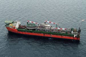 The Chevron Captain FPSO (Photo courtesy Aberdeen)