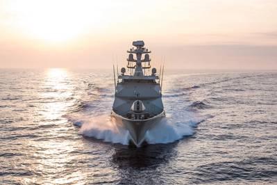 The Damen designed, locally built Mexican Navy's POLA-class ARM Reformador. Image Credit: Damen