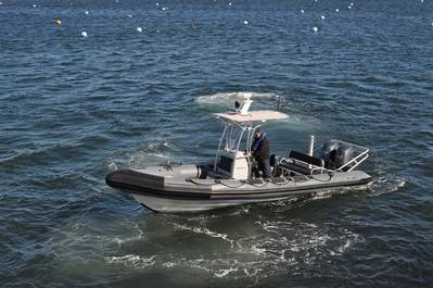 The Decatur Police's new RIBCRAFT Vessel (photo courtesy of RIBCRAFT)