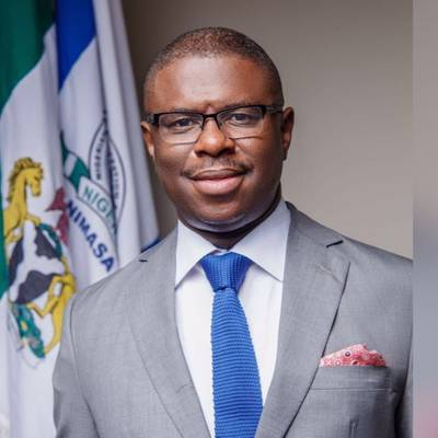 The Director General of the Nigerian Maritime Administration and Safety Agency (NIMASA), Dr. Dakuku Peterside. (Image: NIMASA)