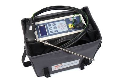 The E8500 combustion analyzer (Photo: E Instruments).