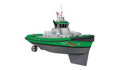 The first LNG fuelled harbour tug in Middle East region will be designed by Wärtsilä and feature a full scope of Wärtsilä solutions.