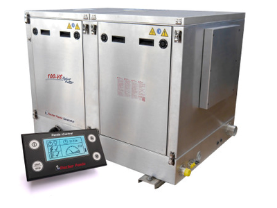 The Fischer Panda 100-VS generator with new FP Control (Photo: FP)