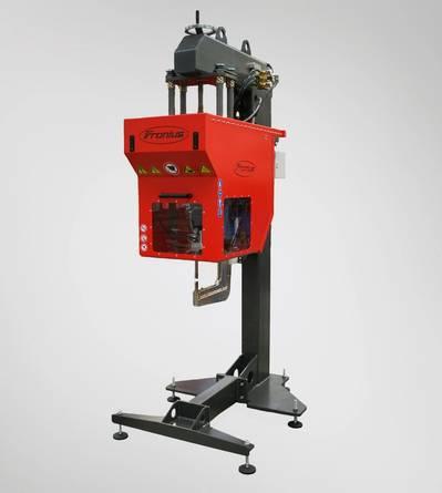 The Fronius C300 robotic system (Photo: Fronius).