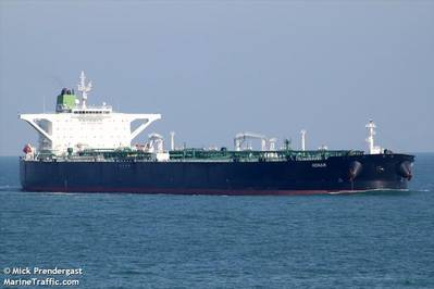The Horse VLCC under the previous name - Credit: Mick Prendergast/MarineTraffic.com
