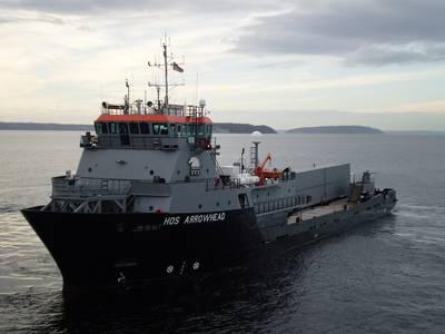 The HOS Arrowhead in 2010 (Photo courtesy of Military Sealift Command)