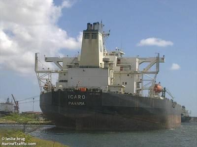 The Icaro (© Leslie Brug / MarineTraffic.com)