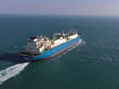 The LNG Carrier Maran Gas Delphi (CREDIT: Maran Gas)