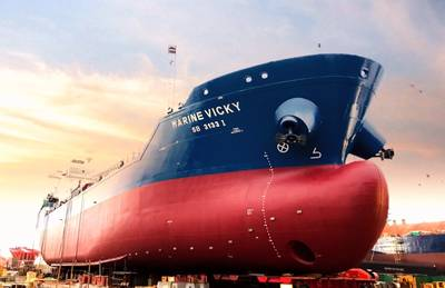 The Marine Vicky (CREDIT: Sinanju Tankers Holdings Pte Ltd)