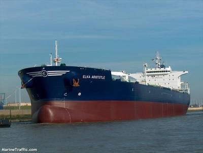 The M/V ELKA ARISTOTLE (Credit: © MarineTraffic.com)