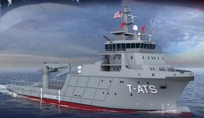 The Navajo-class (T-ATS) Towing, Salvage and Rescue Ship for the US Navy (Image: US Navy)