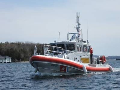 The New 45-ft Response Boat: Photo courtesy of USCG