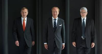 The new bank principals: Photo credit M&M Bank