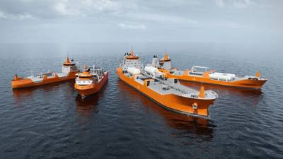 The new series of LNG Carrier ship designs consists of four vessel designs.