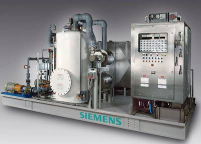 the new SiCure® system developed by Siemens Water Technologies.