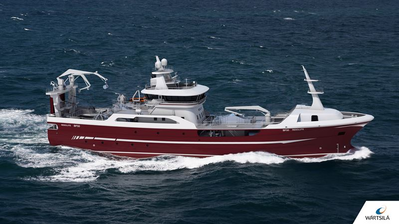 The new Wärtsilä designed 'Resolute' will represent the state-of-the-art in fishing vessel efficiency. (Photo:Wärtsilä )