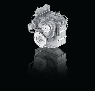 The new ZF 3300 PTI Transmission brings the latest in hybrid-ready propulsion technology for the pleasure and commercial vessel market in the 1,940 kW (2,600hp) range