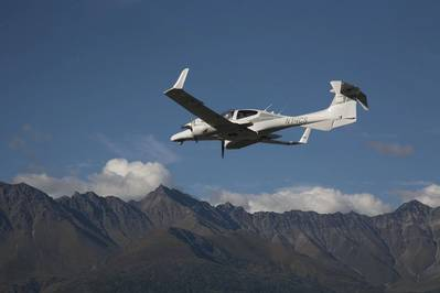 The only aircraft of its kind operating in Alaska, Tulugaq's DA42 combines remote sensing capabilities with low visibility and quiet operation to conduct complex data collection operations without disturbing protected wildlife. (Photo: Tulugaq)
