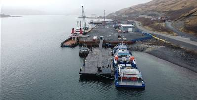 The Pacific Rim Response Center facility in Kodiak, Alaska provides a range of response services and assets to the Western Alaska maritime industry.  (Photo: Global Diving and Salvage)