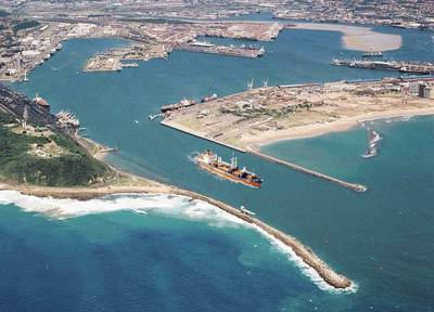 The Port of Durban (Photo courtesy of the Durban Chamber of Commerce)