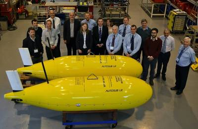 The project, commissioned and funded by the ETI, will develop a monitoring system using marine robotics and Sonardyne's ALDS to provide assurance that carbon dioxide stored in CCS sites is secure. (Photo: Sonardyne)