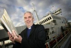 The Revd Andrew Wright: Photo credit Mission to Seafarers
