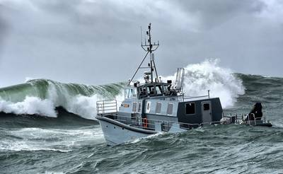 The Royal Navy's new hydrographic survey vessel HMS Magpie (Photo: Royal Navy)