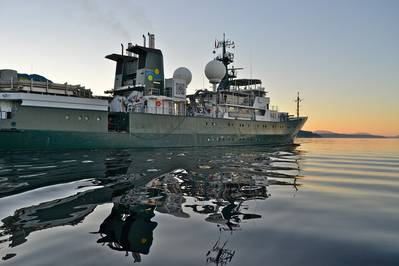 The RV Falkor (Photo courtesy of the Schmidt Ocean Institute)