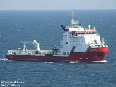 The sanctions were imposed on ship Ostap Sheremeta, shipowner JSC Nobility and construction company Konstanta -  Image Credit: Peter aus Holtenau