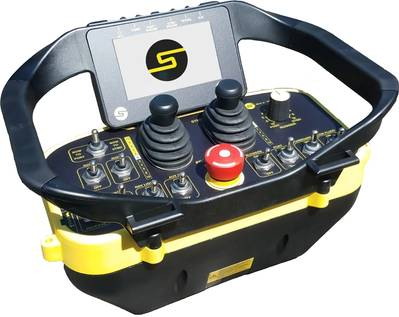 The Sea Machines SM200 Wireless Helm System (Image: Sea Machines)