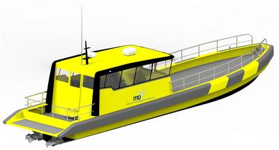 The Tuco designed and built 16m surfer crew boat will be marketed by MarinOIL for offshore crew supply operations.