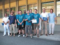 The University of Lübeck took first prize at the Student Autonomous Underwater Vehicle Challenge–Europe (SAUC-E). (NATO photo by Francesca Nacini)