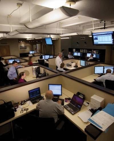 The utiliVisor control center.