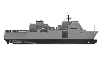 The Vard Amphibious & Military Sea Transport Vessel for the Chilean Navy (Image: Vard Marine)