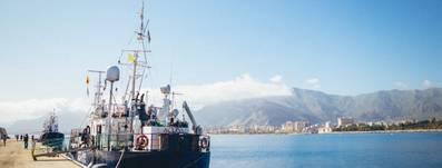 The vessel Alan Kurdi is detained in Palermo (Photo: Sea-Eye)