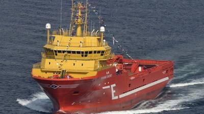 The Viking Energy vessel. (Photo: Eidesvik Offshore)