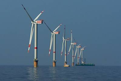 Thornton Bank wind farm: Photo credit ABB